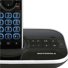 Telefone sem Fio Motorola Dect Gate 4500se com Identificador de Chamadas Secret Eletrônica Preto - Motorola