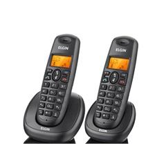 Telefone sem Fio Tsf7002 Preto com 1 Ramal  - Elgin