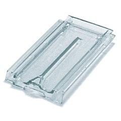 Telha de Vidro Francesa Paulista Texturada 40x24cm - Ibravir