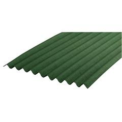 Telha Fibra Ecológica Verde 2,00x95x3mm - Onduline