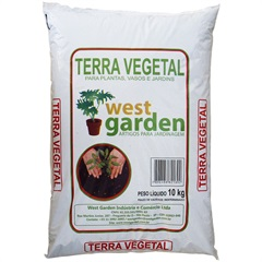 Terra Vegetal 10kg - West Garden