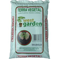 Terra Vegetal 2kg - West Garden