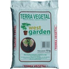 Terra Vegetal Saco com 10kg