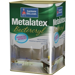 Tinta Acrílica Anti-Mofo Branca 18 Litros - Metalatex - Sherwin Williams