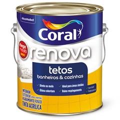 Tinta Acrílica Chega de Mofo para Teto de Banheiro 3,6 Litros - Coral