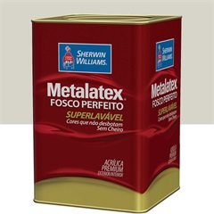 Tinta Acrílica Fosco Gelo 18l - Metalatex - Sherwin Williams