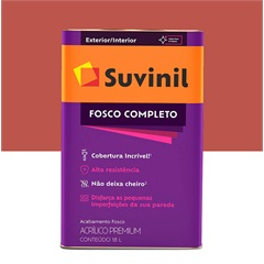 Tinta Acrílica Fosco Tomate Seco 18 Litros Ref.: 50564480  - Suvinil
