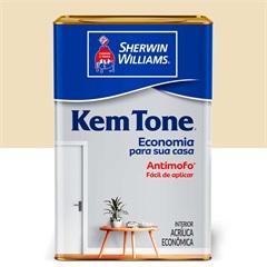 Tinta Acrílica Kem Tone Marfim 18 Litros - Sherwin Williams