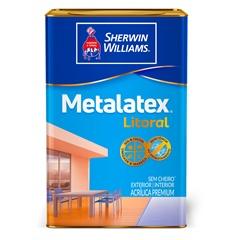 Tinta Acrílica Litoral Acetinada Areia Genipabu 18 Litros - Metalatex - Sherwin Williams