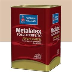 Tinta Acrílica Metalatex Fosco Perfeito Areia 18 Litros - Sherwin Williams