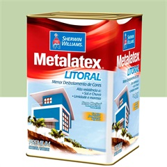 Tinta Acrílica Metalatex Litoral Verde Itacaré 18 Litros - Sherwin Williams