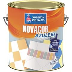 Tinta Acrílica Novacor Azulejo Branco Gelo 3,6 Litros