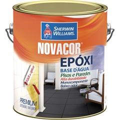 Tinta Acrílica Novacor Extra Standard Fosco Amarela 3,6 Litros - Sherwin Williams