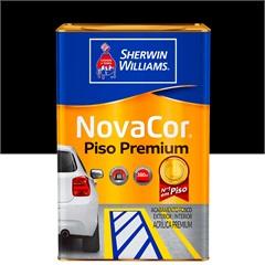 Tinta Acrílica Novacor Piso Mais Resistente Premium Preto 18 Litros - Sherwin Williams