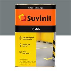 Tinta Acrílica para Piso Cinza 18 Litros Ref. 53419904      - Suvinil