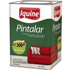 Tinta Acrílica Pintalar Econômica Pérola 18 Litros - Iquine