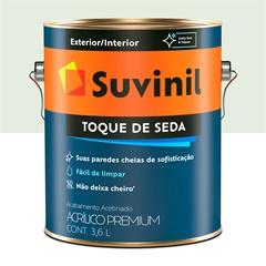 Tinta Acrílica Premium Toque de Seda Gelo 3,6 Litros - Suvinil