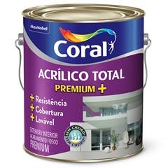 Tinta Acrílica Total Fosco Palha 3.6 Litros - Coral