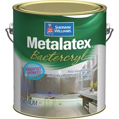 Tinta Bacterkill para Cozinha E Banheiro Acetinado 3,6 Litros - Metalatex - Sherwin Williams