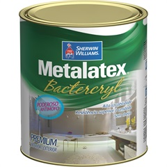 Tinta Bacterkill para Cozinha E Banheiro Acetinado 900ml - Metalatex - Sherwin Williams