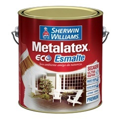 Tinta Eco Esmalte Acetinado Branca 900ml - Sherwin Williams