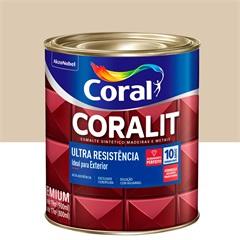 Tinta Esmalte Coralit Acetinado Areia 900ml - Coral