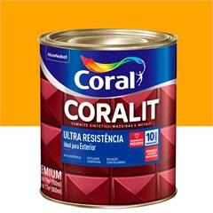 Tinta Esmalte Coralit Brilhante Amarelo 900ml - Coral