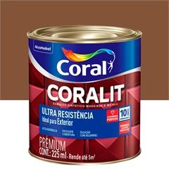 Tinta Esmalte Coralit Brilhante Conhaque 225ml - Coral