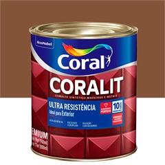 Tinta Esmalte Coralit Brilhante Conhaque 900ml - Coral