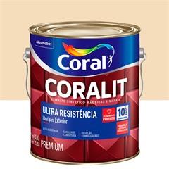 Tinta Esmalte Coralit Brilhante Marfin 3,6 Litros - Coral