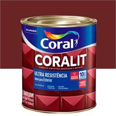 Tinta Esmalte Coralit Brilhante Vermelho Goya 900ml - Coral