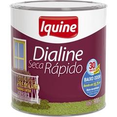 Tinta Esmalte Dialine Seca Rápido Premium Preto 900ml - Iquine