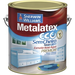 Tinta Esmalte Eco Acetinado Areia 3,6l  - Metalatex - Sherwin Williams