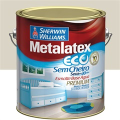 Tinta Esmalte Eco Alto Brilho Gelo 3,6l - Metalatex - Sherwin Williams