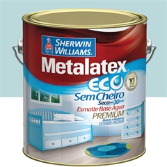 Tinta Esmalte Eco Alto Brilho Platina 3,6l  - Metalatex - Sherwin Williams