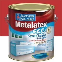 Tinta Esmalte Eco Alto Brilho Vermelho 3,6 Litros - Sherwin Williams