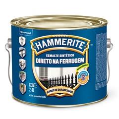 Tinta Esmalte Hammerite Brilhante Marrom Anti-Ferrugem 2,4 Litros - Coral