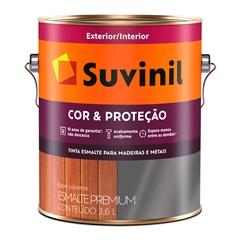 Tinta Esmalte Premium Brilhante Cor & Proteção Branco 3,6 Litros - Suvinil