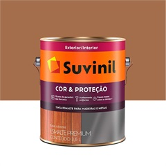 Tinta Esmalte Premium Brilhante Cor & Proteção Conhaque 3,6 Litros - Suvinil