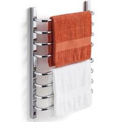 Toalheiro Térmico 110v para 2 Toalhas Fio Lado Esquerdo Cromado - Flape