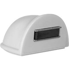 Trava de Porta Magnético Branco com 1 Peça - Bemfixa