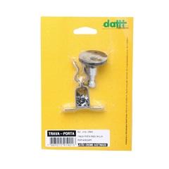 Trava para Porta Cromo Acetinado 410/S - Datti