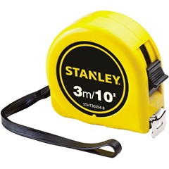 Trena Universal de 3m/10' Amarela - Stanley