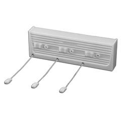 Varal para Parede Automático com 5 Metros E 3 Cordas Ref. 126 - J. Rau