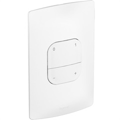 Variador Digital 4 Teclas Bivolt com Placa Branco - Pial Legrand