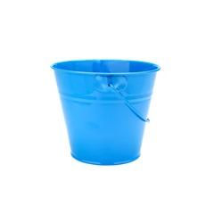 Vaso com Alça Azul 15,2 Cm de Diâmetro - Importado