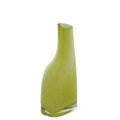 Vaso de Vidro Verde Bianco E Nero 20,5 X 4 X 4 Cm - Toyland