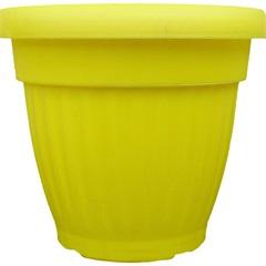 Vaso Denise Amarelo 15cm - West Garden
