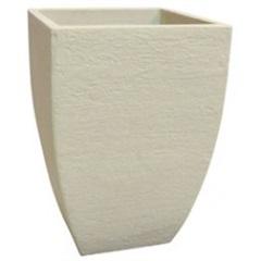 Vaso Moderno Quadrado Cimento 76cm  - Japi