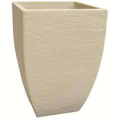 Vaso Quadrado Moderno Cimento 45cm - Japi